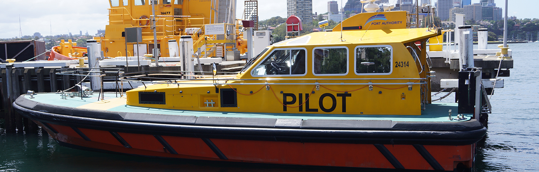 Sydney Harbour pilot vessel