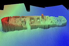 Survey image of TSS Currajong, Bradleys Head, Sydney