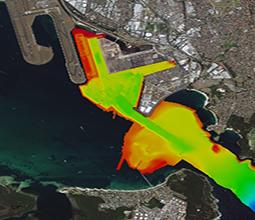 Survey image of Port Botany