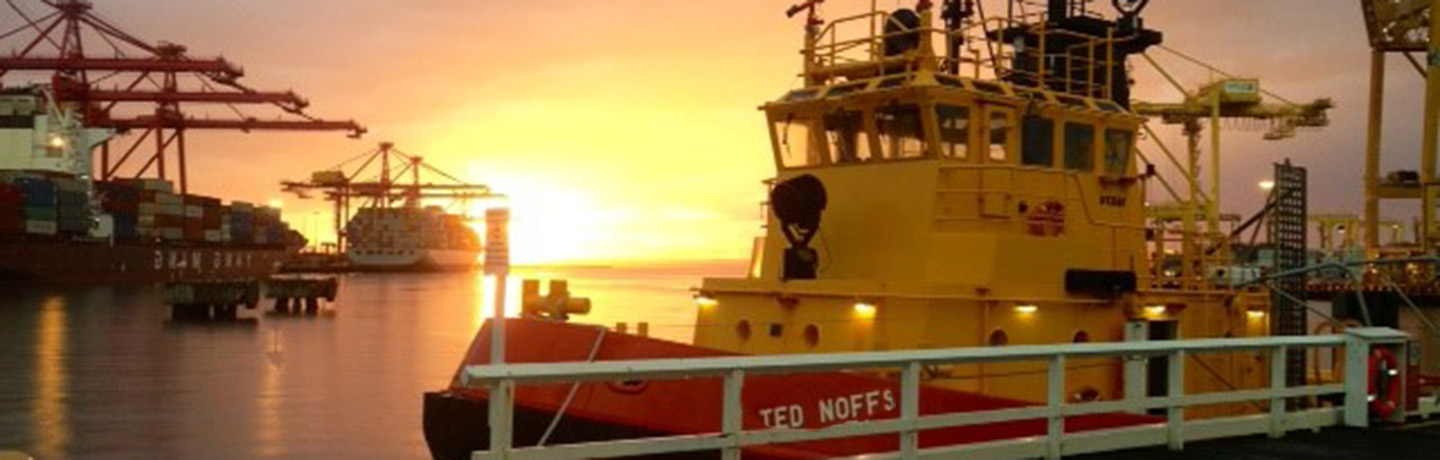 Ted Noffs berthed at Port Botany