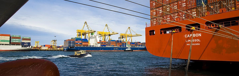 Vessel at Port Botany