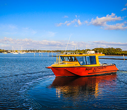 Port of Yamba survey vessel