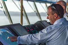 Port of Eden Harbour Master demonstrating navigation tool