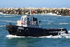Port of Yamba vessel 'Francis Freeburn'