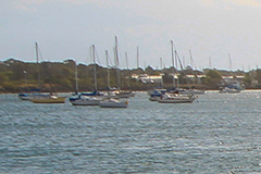 Recreational vessels at Port of Yamba