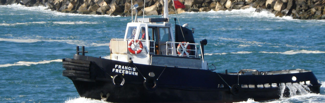Francis Freeburn vessel at Port of Yamba