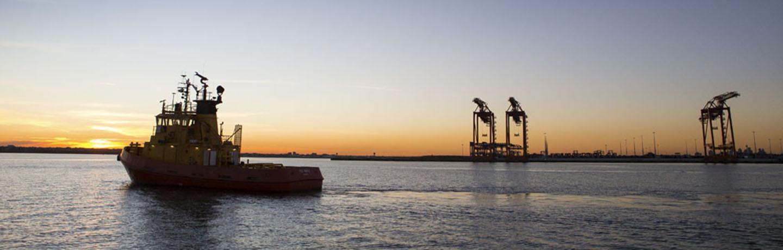 Vessel in Port Botany