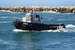 Francis Freeburn vessel at Port of Yamba