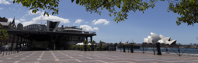 Overseas Passenger Terminal at Circular Quay
