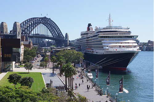 sydney cruise ship terminal map White Bay Cruise Terminal Port Authority New South Wales sydney cruise ship terminal map